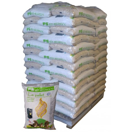 Pellet 70 sacs FS Energy 15kg